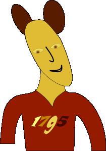 free vector Mouse Man clip art