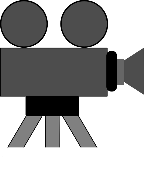 free vector Movie Camera clip art