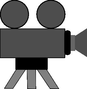 free vector Movie Camera clip art