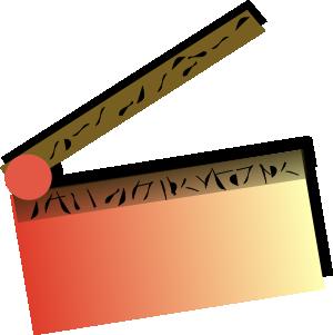 free vector Movie clip art