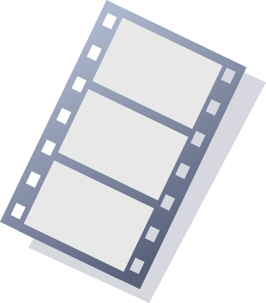 Movie Clip Art is Free Vector