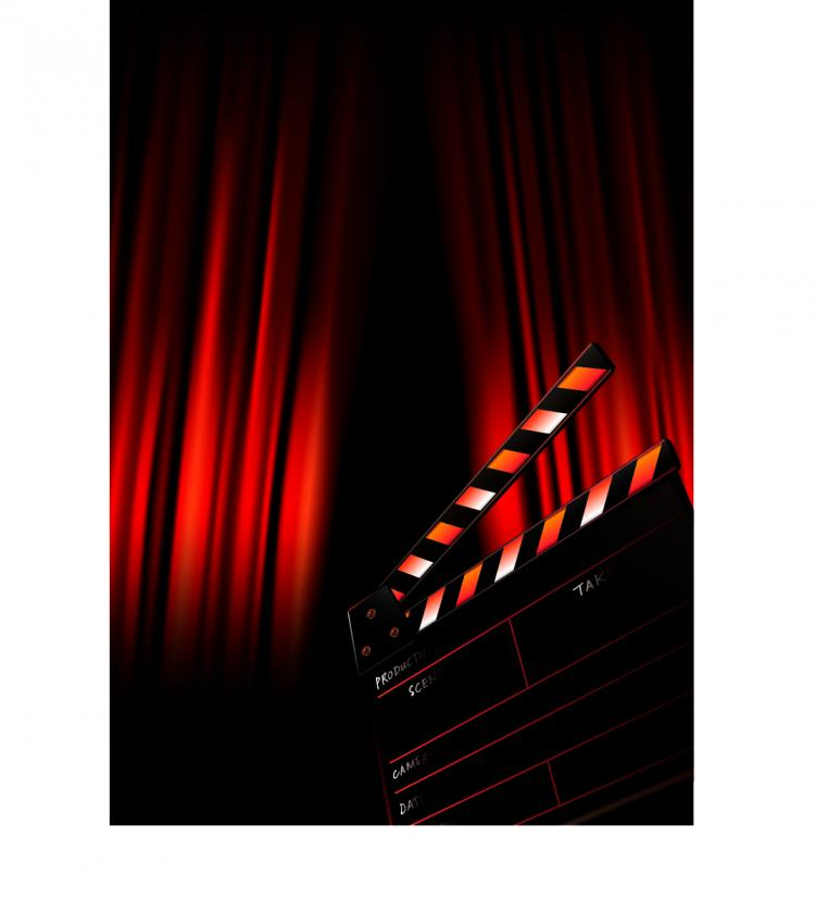 free vector Movie posters vector background