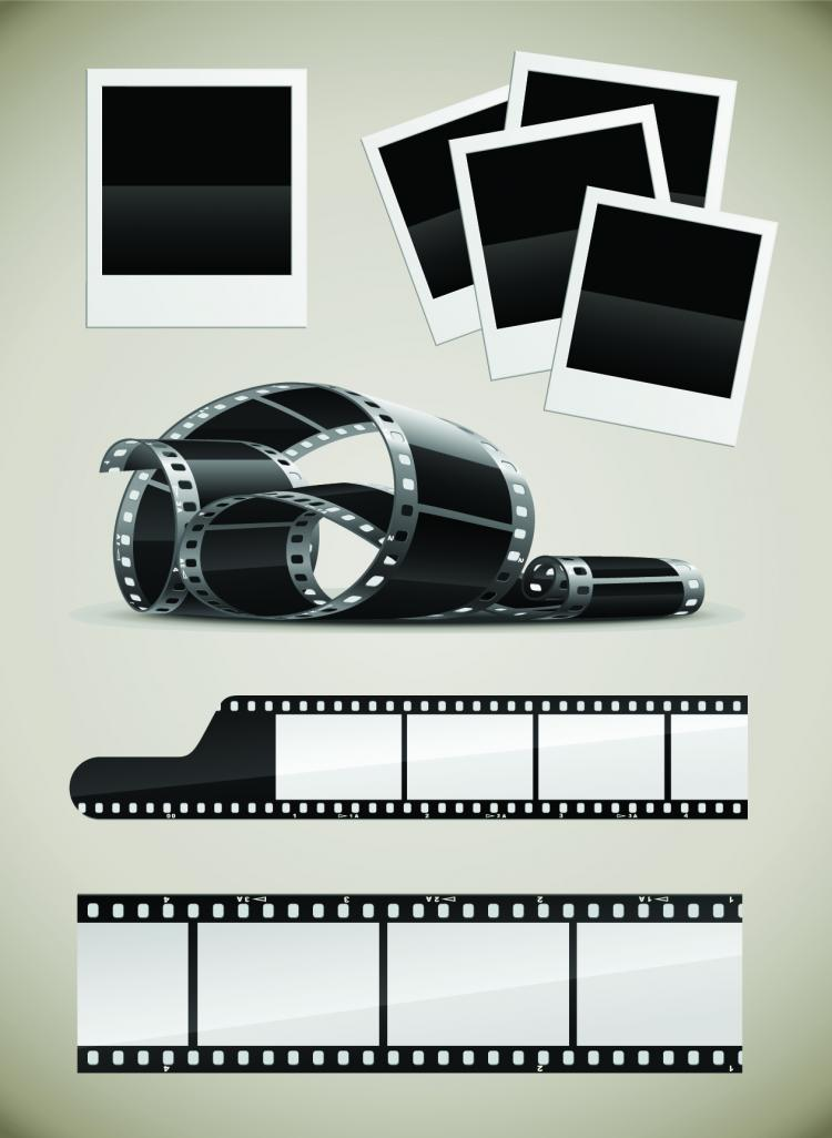 free vector Movie props and equipment highdefinition picture clip art
