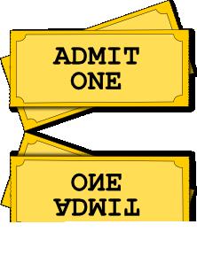 free vector Movie Tickets clip art
