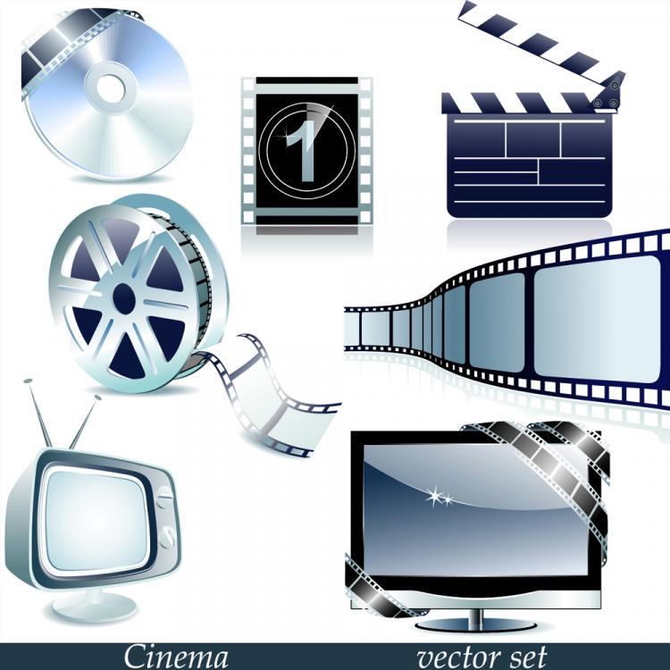 free vector Movie tool 02 vector