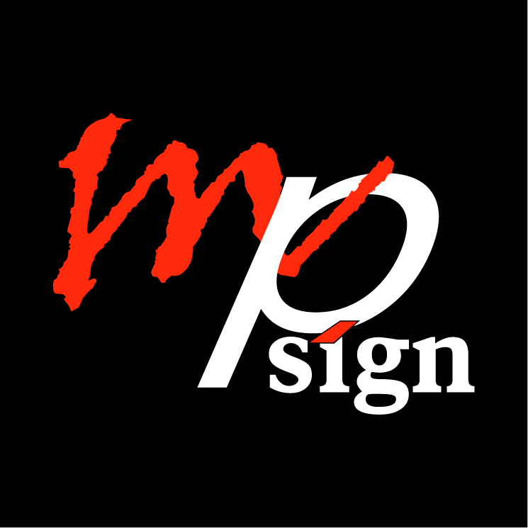free vector Mp sign
