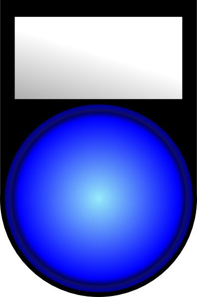 free vector Mp3 Player Blue Light clip art