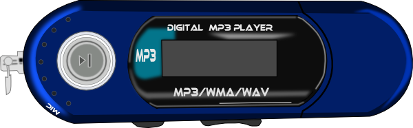 free vector Mp3 Player clip art