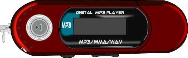 free vector Mp3 Player clip art
