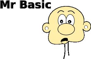 free vector Mr Basic clip art