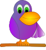 free vector Mr Parrot clip art