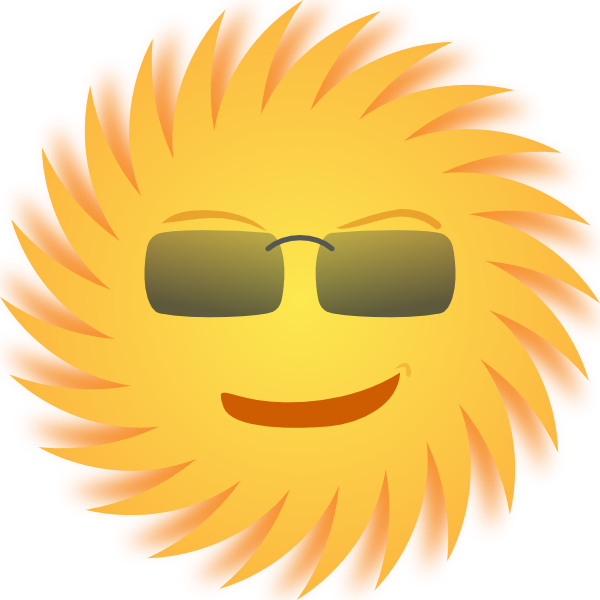 mr sun clip art free vector 4vector rh 4vector com Cartoon Sunshine Clip Art Sunshine Happy Face Clip Art