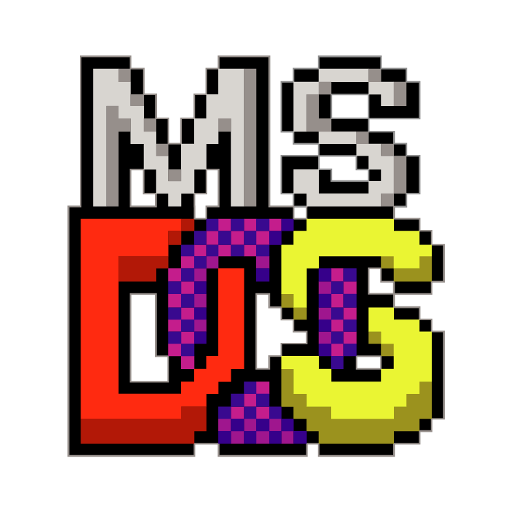 free vector Ms dos prompt