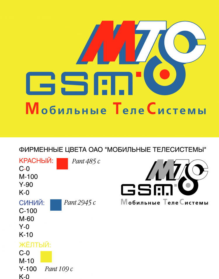 free vector Mts mobile telesystems 1
