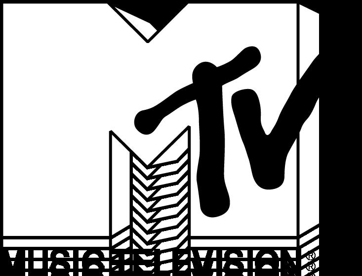 free vector MTV logo