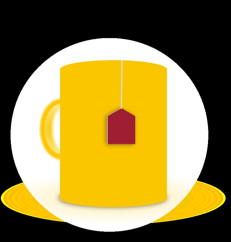 free vector Mug of tea