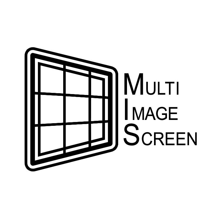 free vector Multi image screen