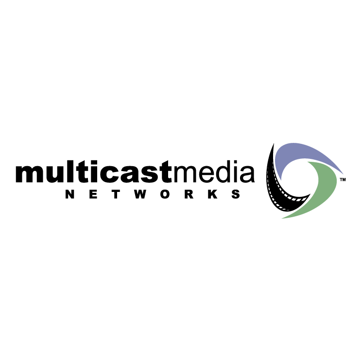free vector Multicast media networks
