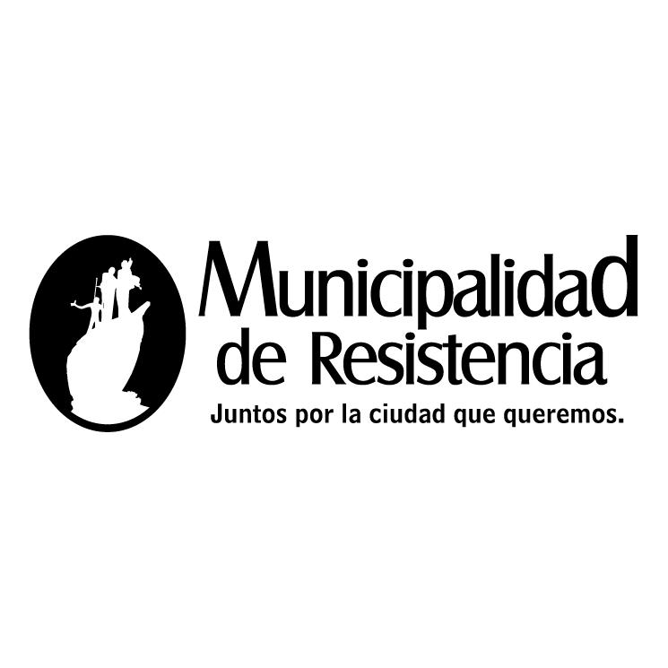 free vector Municipalidad de resistencia