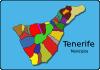 free vector Municipios Tenerife clip art