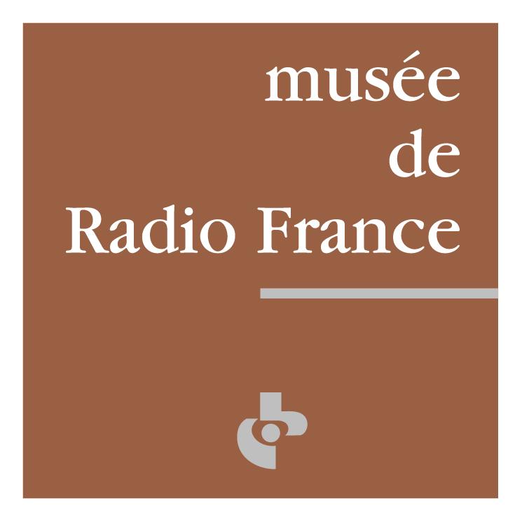 free vector Musee de radio france