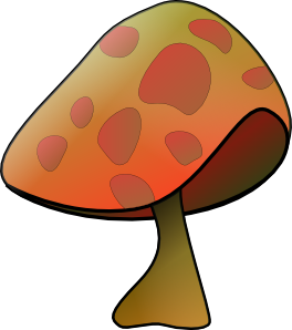 mushroom clip art free vector 4vector rh 4vector com mushroom clip art images mushrooms clip art borders