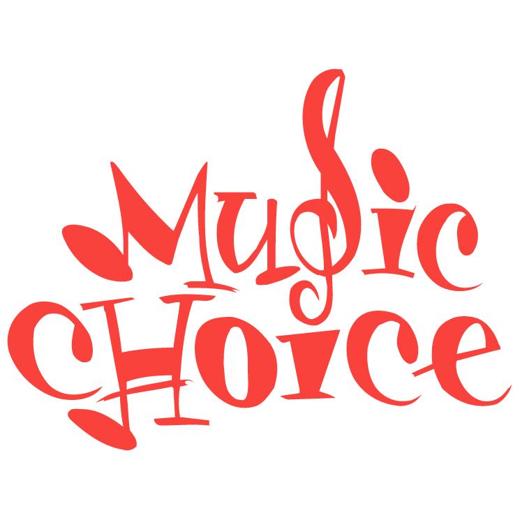 free vector Music choice