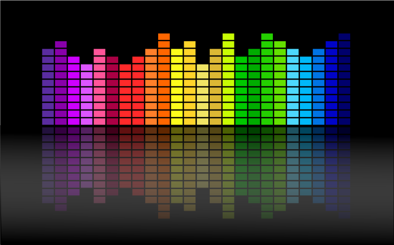 free vector Music Equalizer