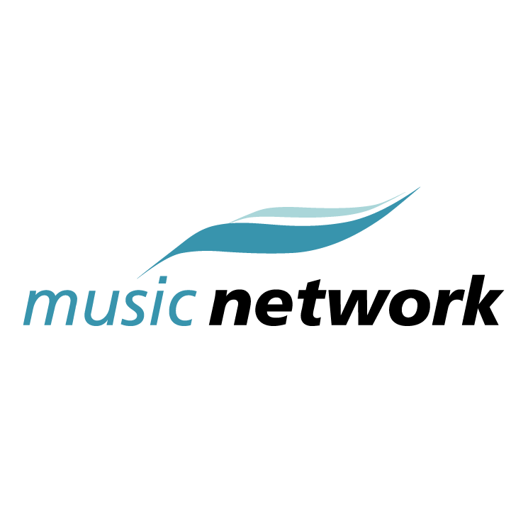 free vector Music network