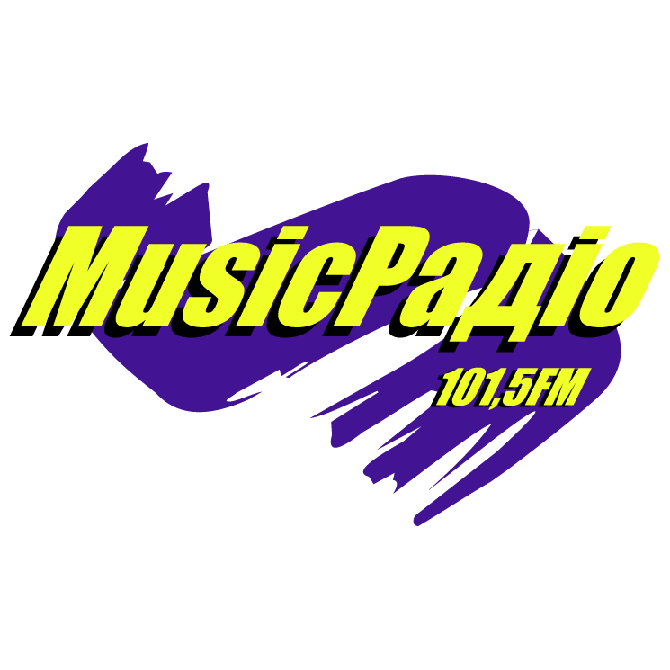 free vector Music radio