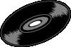 free vector Music Record clip art