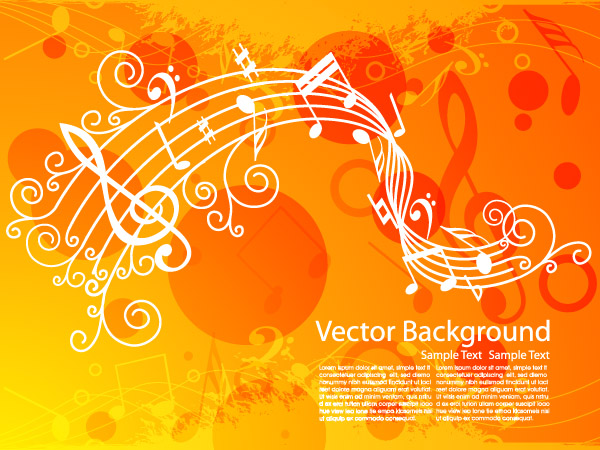free vector Music theme vector 6792