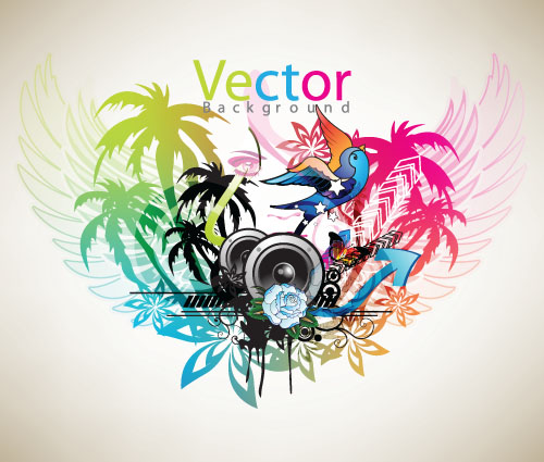 Music Theme The Trend (6844) Free EPS Download / 4 Vector