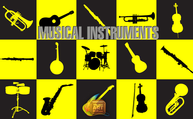 free vector Musical Instruments