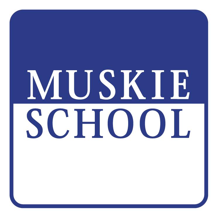 free vector Muskie school