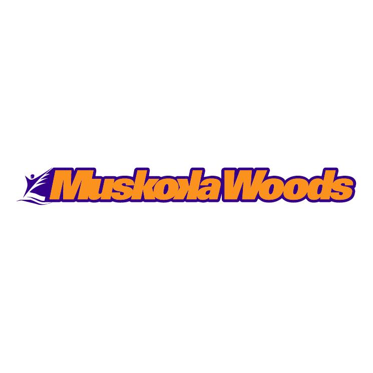 free vector Muskoka woods