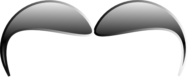 free vector Mustache  clip art