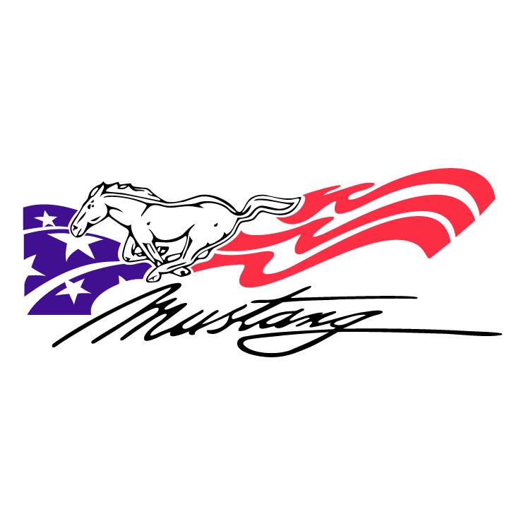 free vector Mustang usa