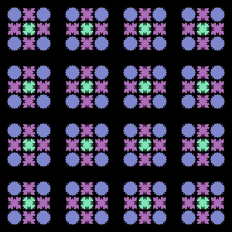 free vector Muster 43cab Variation in bunt - Endloskachel
