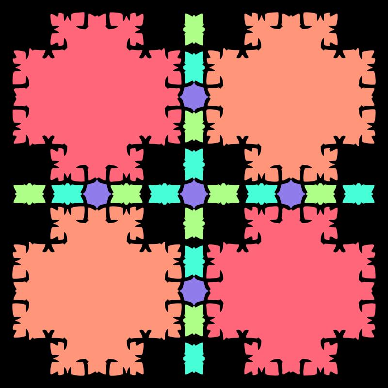 free vector Muster 43cb Variation in bunt - Endloskachel