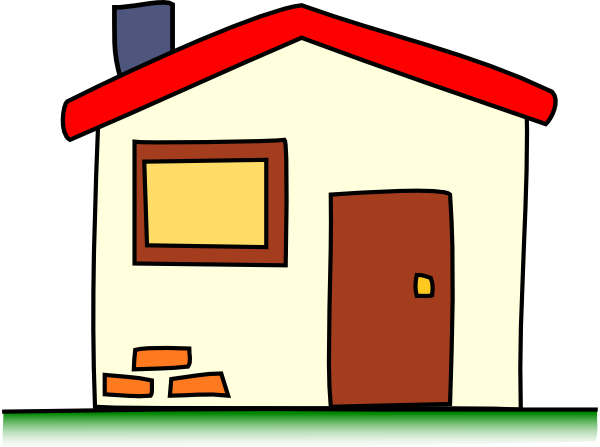 my house clip art free vector 4vector rh 4vector com home clipart black and white home clip art images