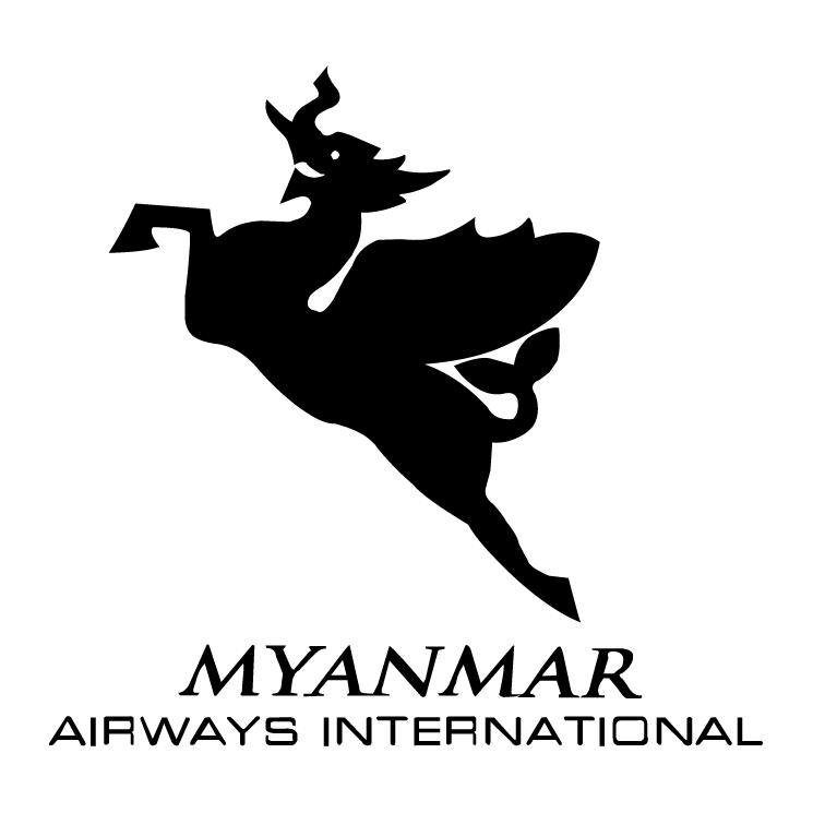 free vector Myanmar airways