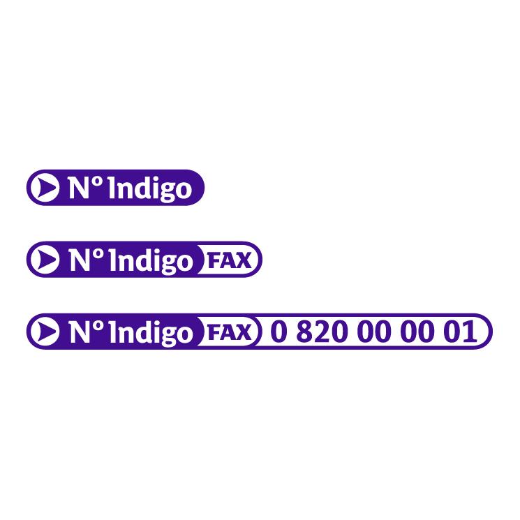 free vector N indigo