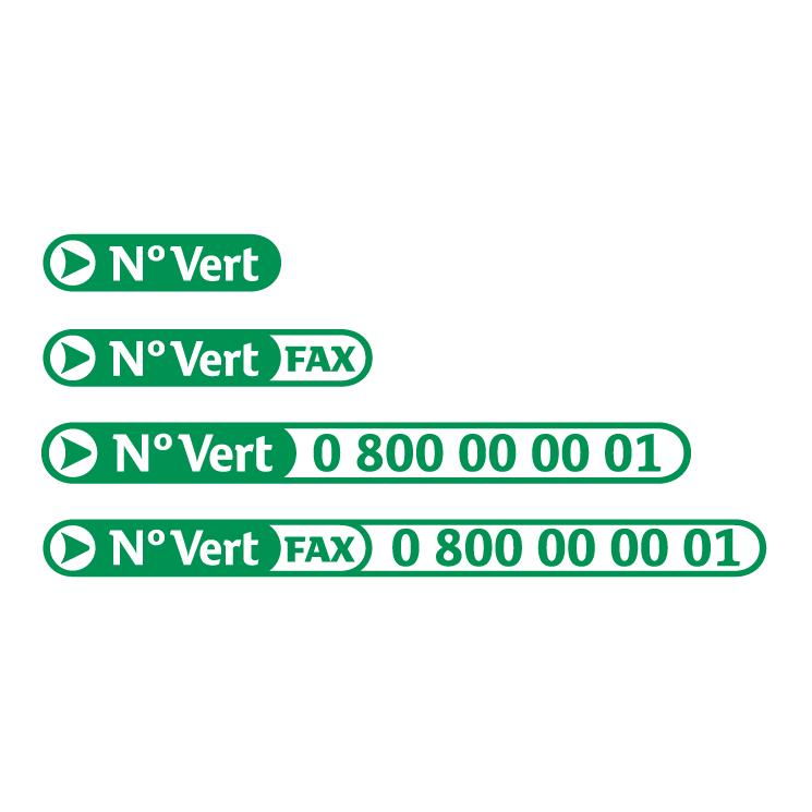 free vector N vert