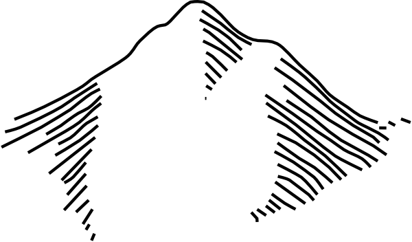 free vector Nailbmb Map Symbols Mountain clip art