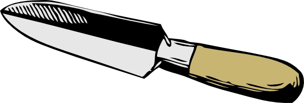 free vector Narrow Trowel clip art