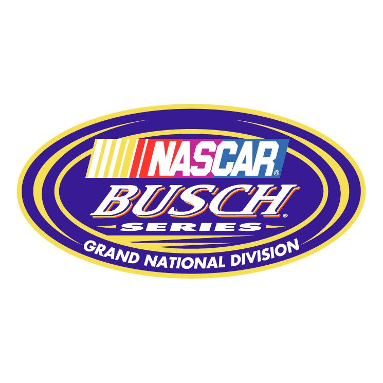 free vector Nascar busch series