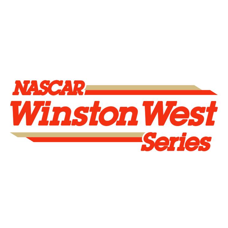 free vector Nascar winston west series