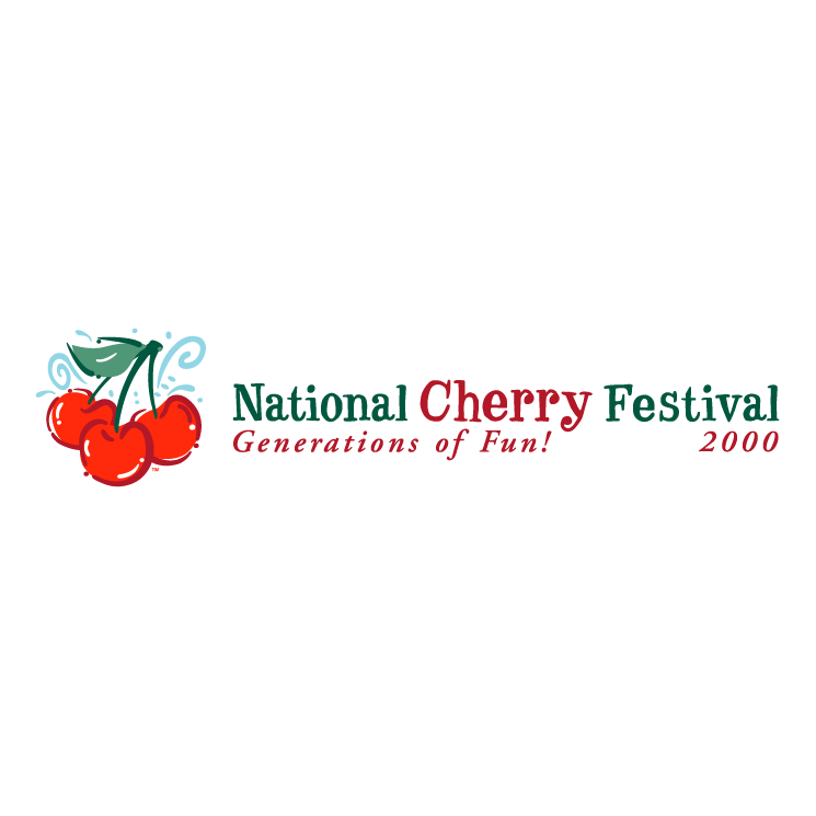 free vector National cherry festival 8