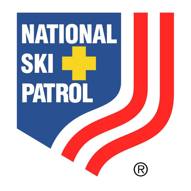 free vector National ski patrol